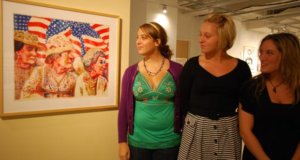 Image from Undergraduate Juried Exhibition 2012.
